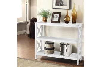 Artiss Hall Console Table Entry Hallway Side Table Shelf Display Wooden