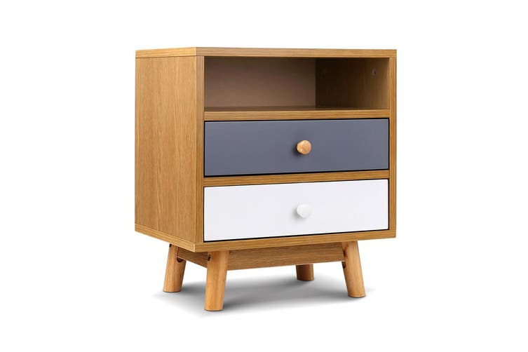 Artiss Bedside Tables Drawers Side Table Bedroom Furniture Nightstand Cabinet