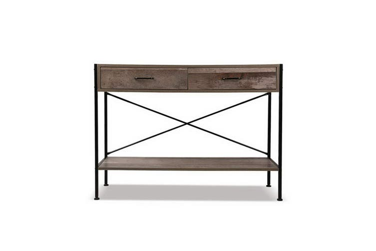 Artiss Hallway Console Table Wooden Entry Side Table Display Industrial