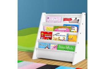 Keezi Kids Bookshelf Shelf Children Bookcase Magazine Organiser Display