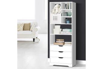 Artiss Bookcase Display Shelf Storage Cabinet Stand Home Office Bookshelf