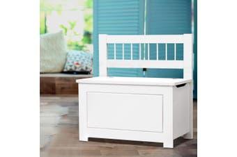 Artiss Kids Toy Box Chest Storage Cabinet Bench Container Children Organiser