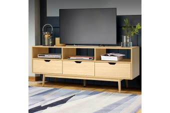 Artiss TV Cabinet Entertainment Unit Stand Storage Wooden Scandinavian