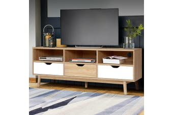 Artiss TV Cabinet Entertainment Unit Stand Wooden 140cm Scandinavian