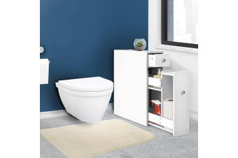 Artiss Bathroom Storage Caddy Utility Toilet Cabinet Tissue Box Cupboard