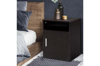Artiss Bedside Tables Drawers Side Table Storage Cabinet Wood Big Nightstand