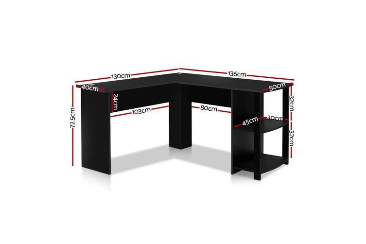 Artiss Office Computer Desk Corner Student Study Table Workstation L-Shape