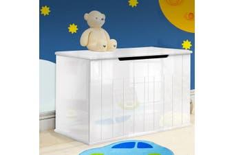 Artiss Kids Toy Box Chest Storage Drawer Bench Children Gloss Organiser