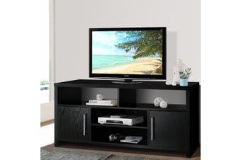 Artiss TV Cabinet Entertainment Unit Stand Storage Shelf Sideboard Black