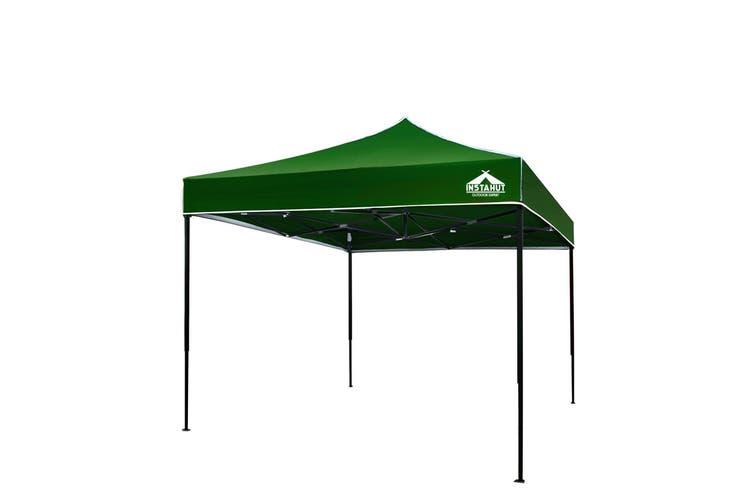Instahut Gazebo Pop Up Marquee 3x3m Outdoor Tent Folding Wedding Gazebos Green