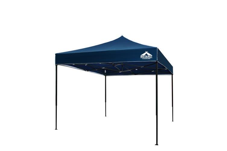 Instahut Gazebo Pop Up Marquee 3x3m Outdoor Tent Folding Wedding Gazebos Navy