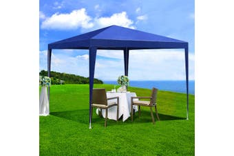 Instahut Gazebo 3x3m Tent Marquee Party Wedding Event Canopy Camping Blue