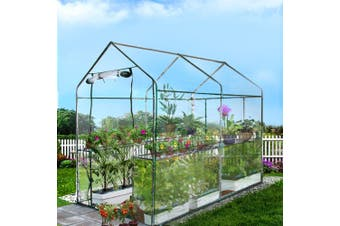 Greenfingers Garden Shed Greenhouse 1.9x1.2x1.9M Green House Replacement *Cover