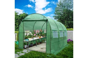 Greenfingers Garden Shed Greenhouse 3X2X2M Green House Replacement *Cover Only