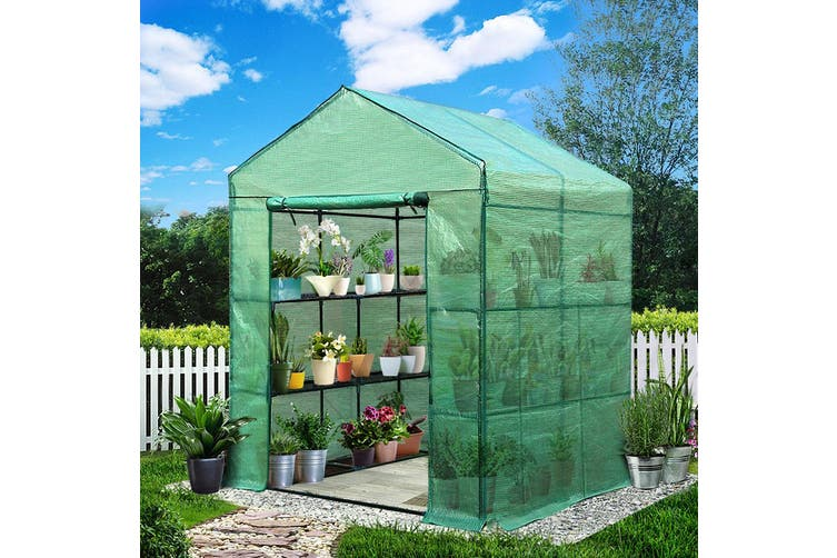 Greenfingers Greenhouse Green House Tunnel 2MX1.55M Garden Shed Storage Plant