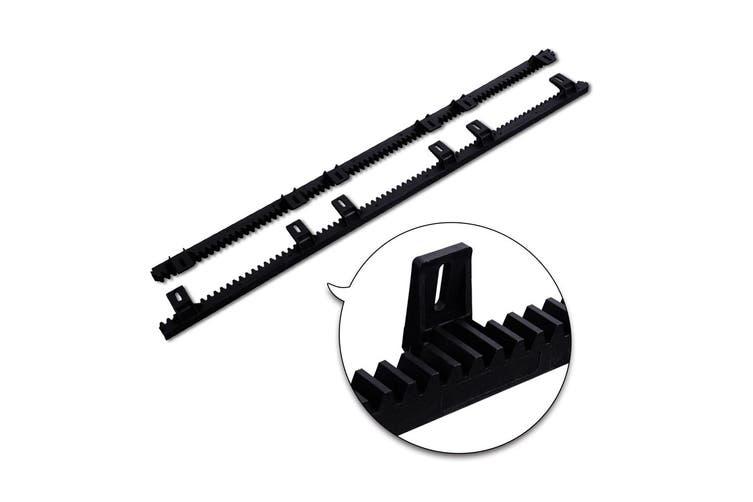 LockMaster Electric Sliding Gate Opener 1200KG Auto Remote Hardware Kit Rail Control 6M for Driveway