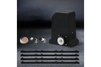 LockMaster Automatc Electric Sliding Gate Opener 1000KG Keypad Remote Rail Hardware Kit 4M