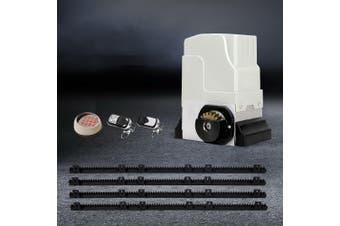 LockMaster Automatic Electric Sliding Gate Opener 1800KG Keypad Remote Rail Hardware Kit 4M