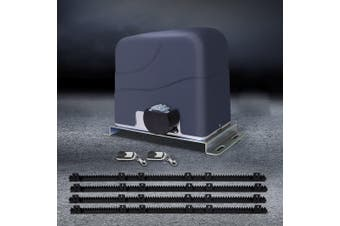 LockMaster Automatic Electric Sliding Gate Opener Electric 1200kg 4M Remote Control Hardware Kit