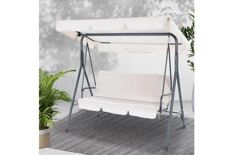 Heavy Duty Counter Stools, Gardeon Outdoor Swing Chair Hammock Garden Bench 3 Seater Canopy Furniture Matt Blatt