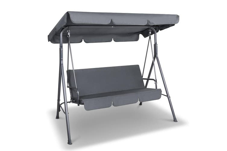 Heavy Duty Counter Stools, Gardeon Outdoor Swing Chair Hammock Garden Bench Seat Canopy Cushion Furniture Kogan Com