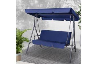Gardeon Outdoor Swing Chair Hammock Garden Canopy Bench Seat Cushion Furniture