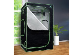 Greenfingers Hydroponics Indor Grow Tent Kits Reflective 1.2X1.2X2M 600D Oxford
