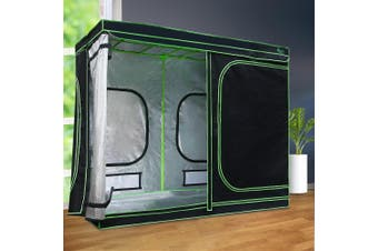 Greenfingers 2.4m x 1.2m x 2m Hydroponics Grow Tent Kits Indoor Grow System