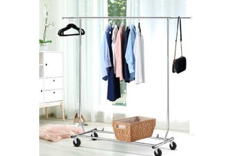 Artiss Clothes Coat Rack Stand Portable Garment Hanging Rail Airer Adjustable