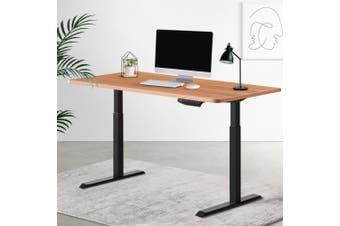 Artiss Standing Desk Motorised Sit Stand Table Height Adjustable Laptop Computer Desks Dual Motors 140cm