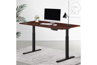 Artiss Standing Desk Sit Stand Motorised Electric Frame Computer Laptop Table 120cm Dual Motor