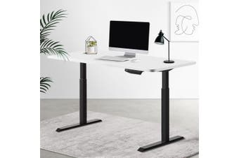 Artiss Standing Desk Sit Stand Table Riser Motorised Electric Computer Laptop Desks Dual Motors 140cm
