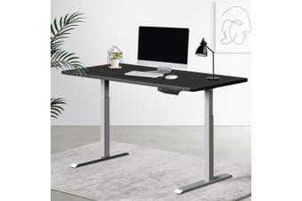 Artiss Standing Desk Motorised Sit Stand Table Riser Adjustable Computer Laptop Desks Dual Motors 140cm