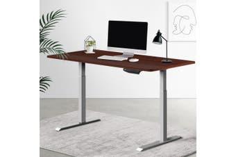 Artiss Standing Desk Motorised Electric Height Adjustable Laptop Computer Table Riser 120cm Dual Motor