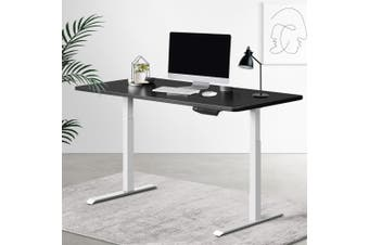 Artiss Standing Desk Adjustable Sit Stand Table Motorised Electric Computer Laptop Desks Dual Motors 140cm