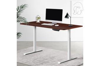 Artiss Standing Desk Motorised Sit Stand Table Height Adjustable Computer Laptop Desks Dual Motors 140cm