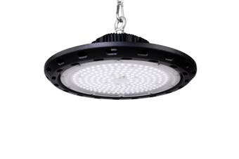 Leier LED High Bay Lights 200W UFO Lamp Industrial Shed Factory Warehouse Gym Workshop