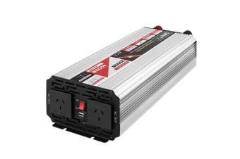 Giantz Large Pure Sine Wave Power Inverter 2000W/4000W 12V-240V Remote Control