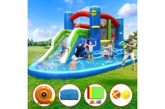 Inflatable Water Slide Jumping Trampoline Castle Bouncer Toy Splash