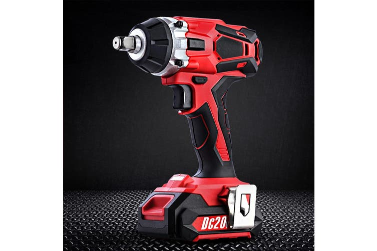 Giantz 20V Cordless Impact Wrench Rechargeable Lithium-Ion Battery Rattle Gun Sockets