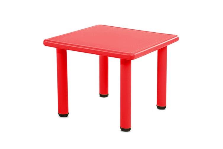Keezi Kids table Childrens desk furniture Plastic Outdoor Indoor Study Picnic