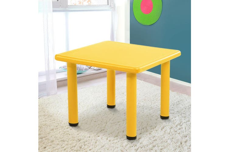 Keezi Kids table Childrens desk furniture Plastic Outdoor Indoor Study Picnic