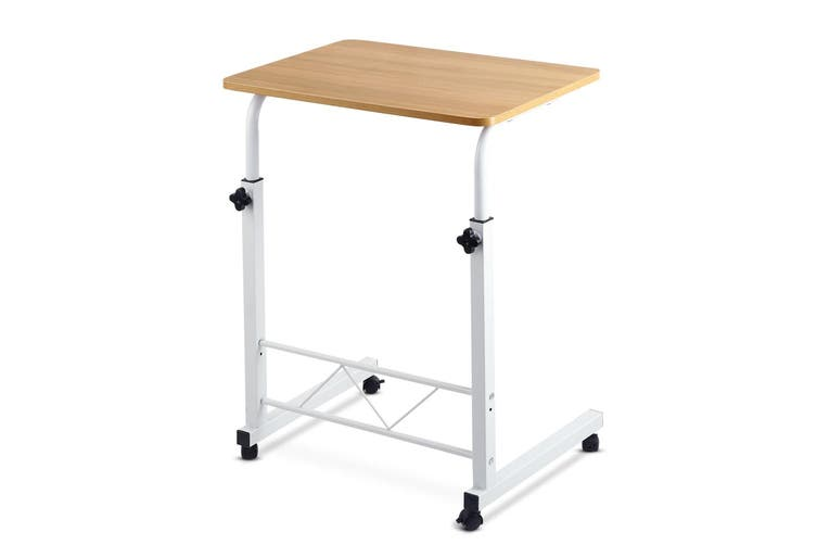 Artiss Laptop Desk Computer Table Stand Mobile Adjustable Office Bed Wooden