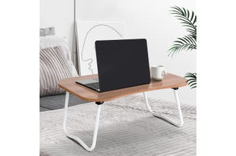 Artiss Portable Laptop Desk Stand Foldable Wooden Bed Tray Tables Breakfast Overbed