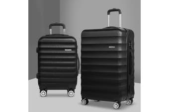 2pc Luggage Sets Travel Suitcases Set TSA Hard Case Lightweight