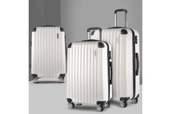 3pc Luggage Sets Suitcase Set Free Scale TSA Travel Hard Case