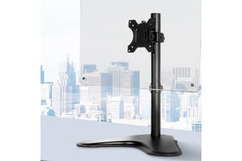 Monitor Arm Single Stand HD LED TV Mount Bracket Holder Freestanding