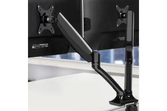 Artiss Dual Monitor Arm Stand 2 HD LED Desk Mount Screen TV Holder Gas Spring