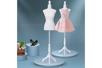 Embellir Female Mannequin 170cm Model Dressmaker Clothes Display Torso Tailor Wedding White