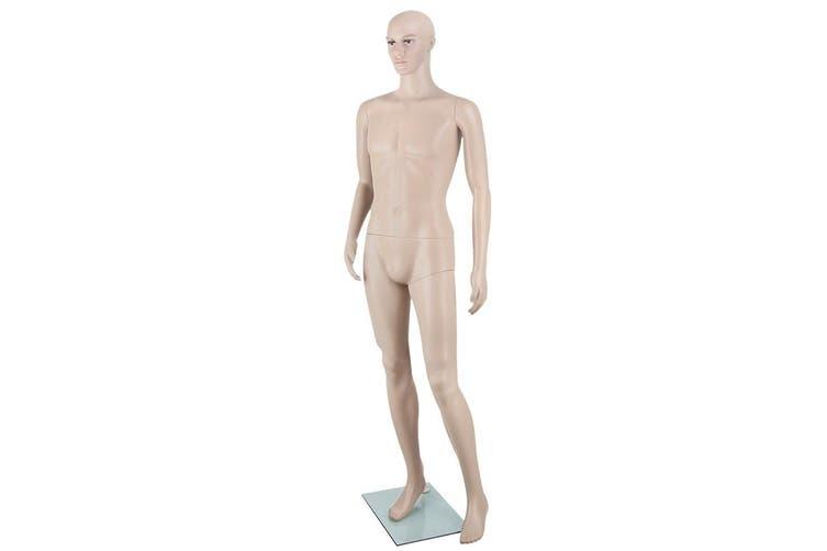 Embellir Full Body 185cm Male Mannequin Head Clothes Display Dressmaking Showcase Torso